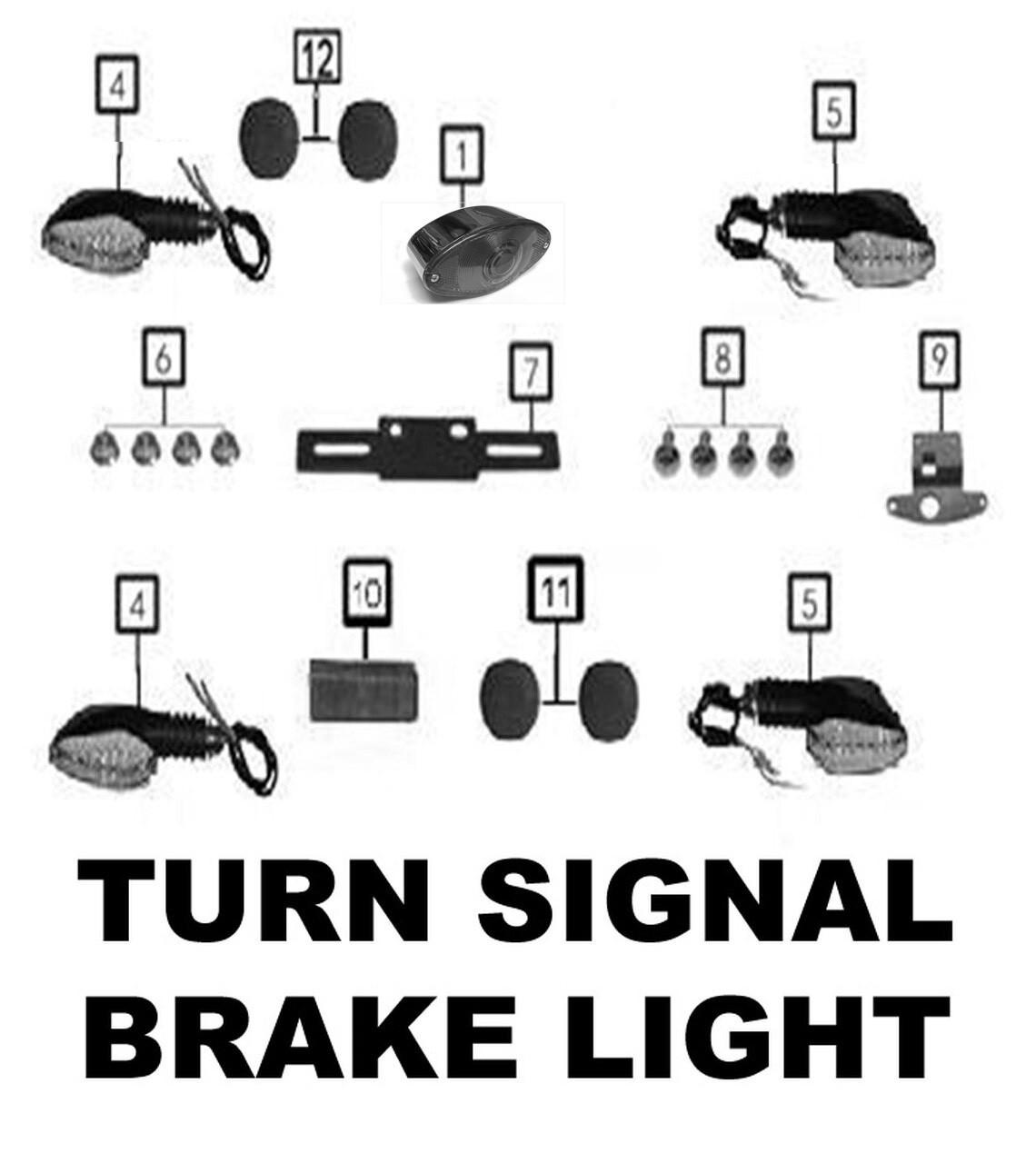TURN SIGNALS / BRAKE LIGHT