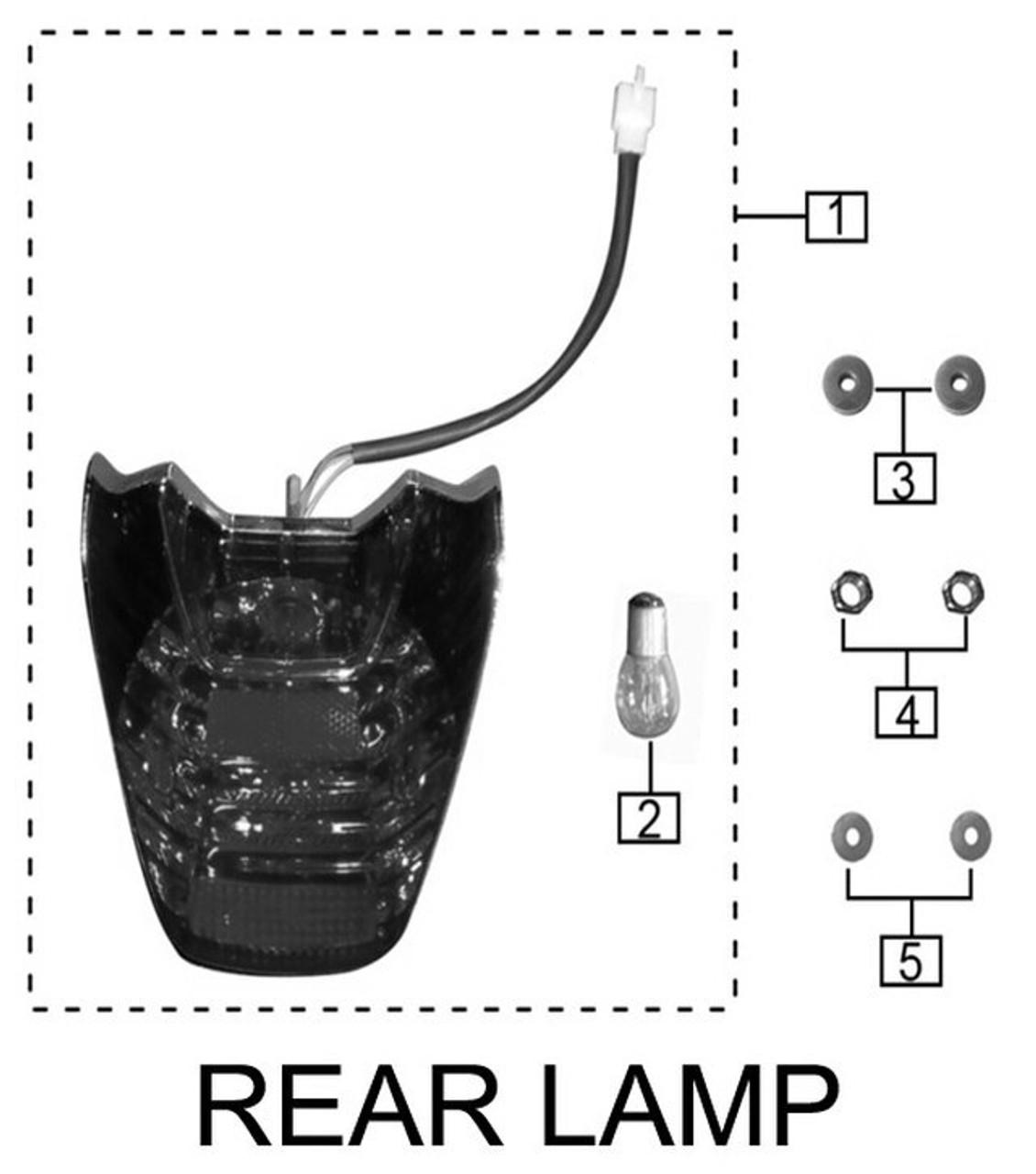 REAR TAIL LAMP