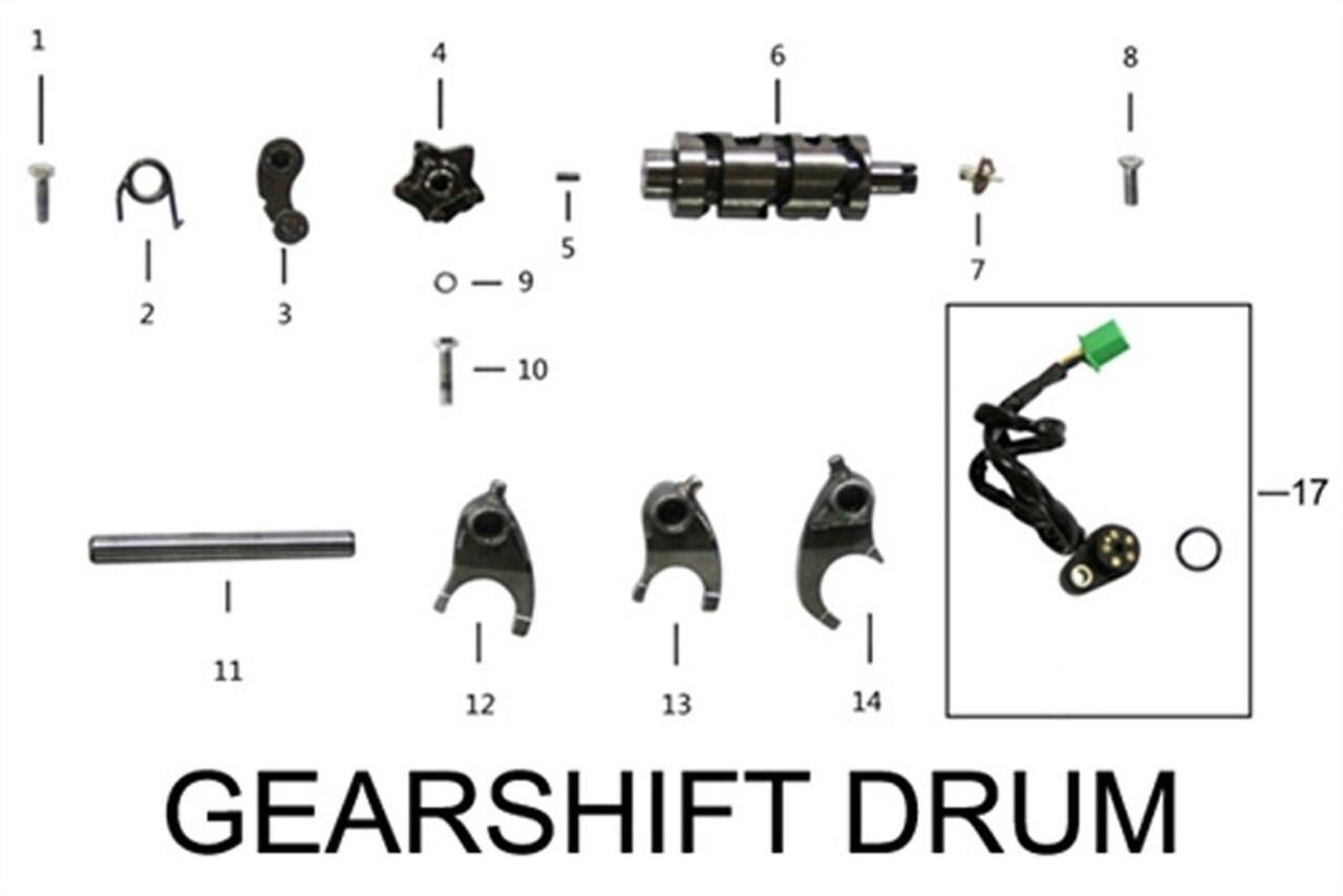 ENGINE SHIFT DRUM
