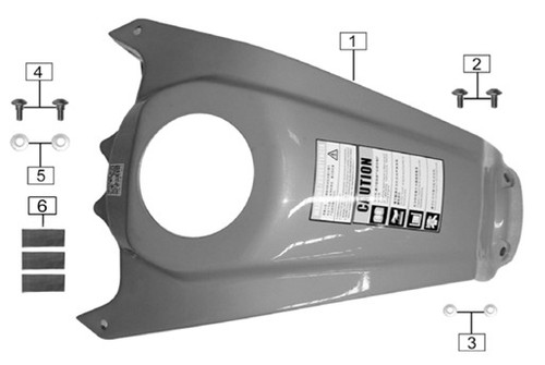 Rubber plane pad(PC Transparent color)