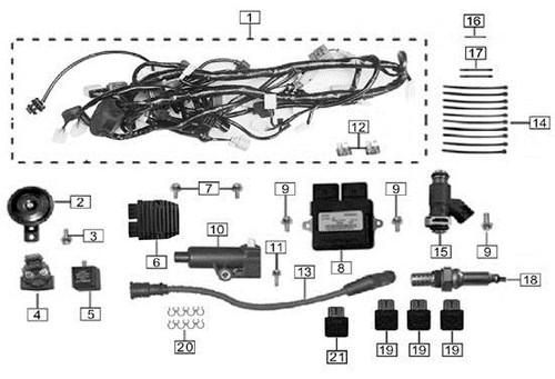 Bolt M6x30 5