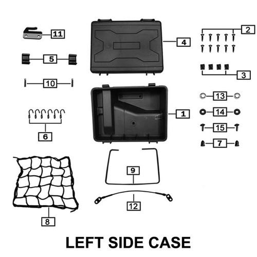 LATCH,TAIL CASE, SIDE CASES,RX3 USE Z57-103