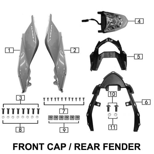 Tail cap