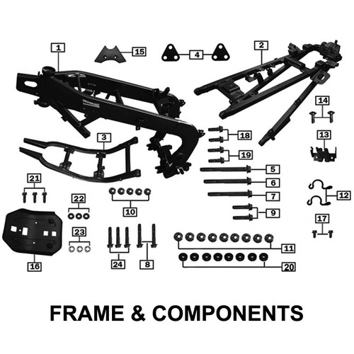FRAME REAR SECTION