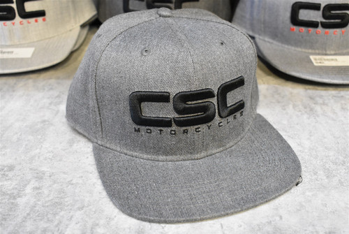 CAP, DARK GREY, BLACK LOGO, BLACK LETTERS
