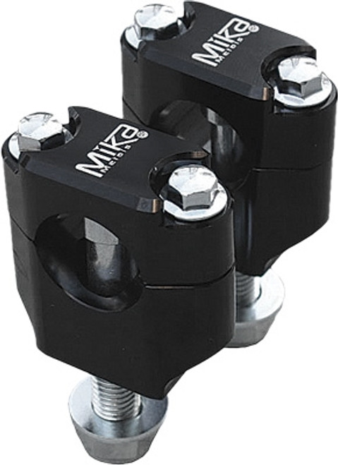 MIKA 7/8 BAR CLAMPS BLK