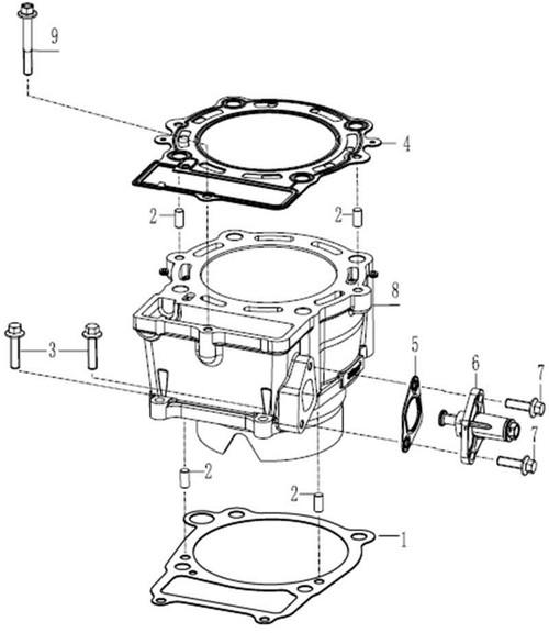 Gasket Cylinder Block