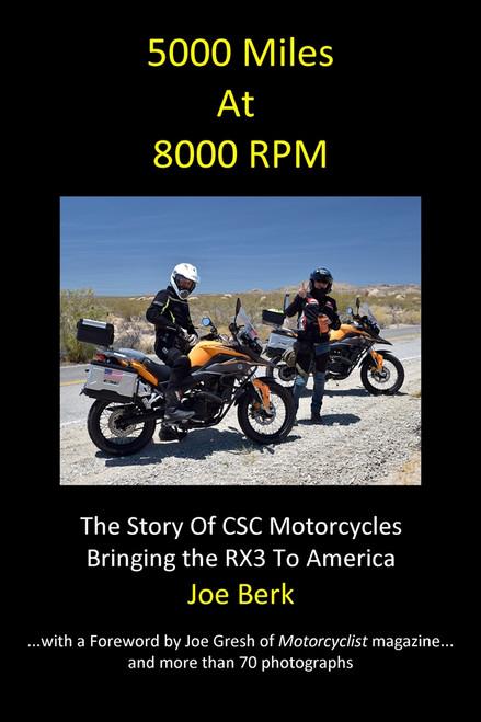 5000 Miles At 8000 RPM by Joe Berk (B&W)