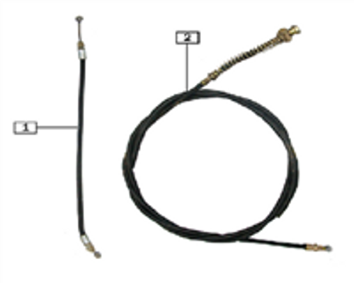Cushion lock cable