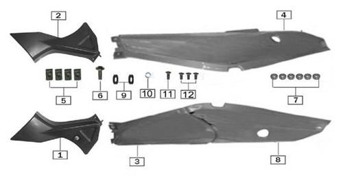 Nut clip M5-17x11-3 2