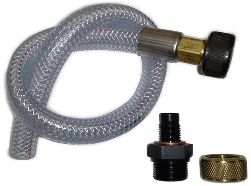 QUICK CHANGE OIL DRAIN PLUG AND HOSE ASSEMBLY KIT, M14X1.50 FITS 2015 RX3