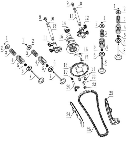 Sproket Chain