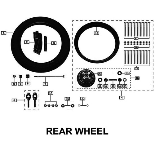 BEARING, REAR WHEEL, SPROCKET SIDE (2 REQUIRED) 6302RS SAME AS Z50-108