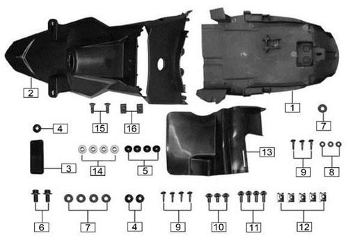 Bolt M6x12 13