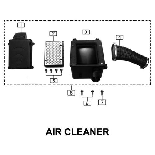 Air  filter shell