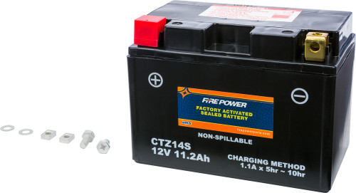 CTZ14S SEALED FACTORY ACTIVATED BATTERY- RX4 & RX3 Replacement