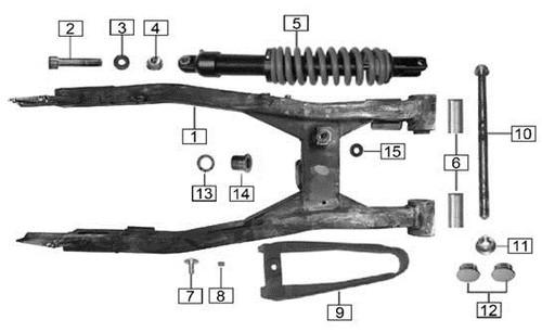 Screw M12x1.25x60