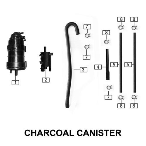 Tubing  assembly(4x8x85+8x11x25,)