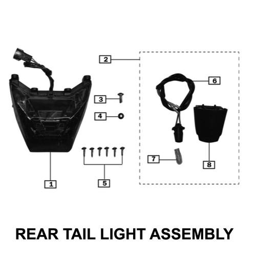 BULB(12V/5W), REAR LICENCE PLATE LAMP