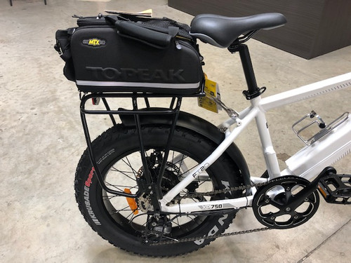 TOPEAK BAG, TRUNK,MTX,EX W/RIGID MLD PNLS/BTL HOLDER