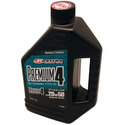 Oil, Maxima Maxum Premium 4 20W50 Liter