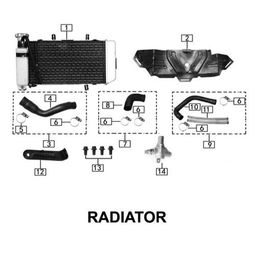 Temperature sensor assembly