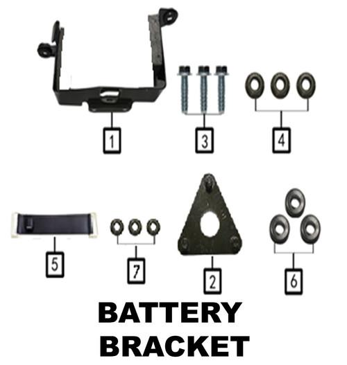 Bracket ,battery