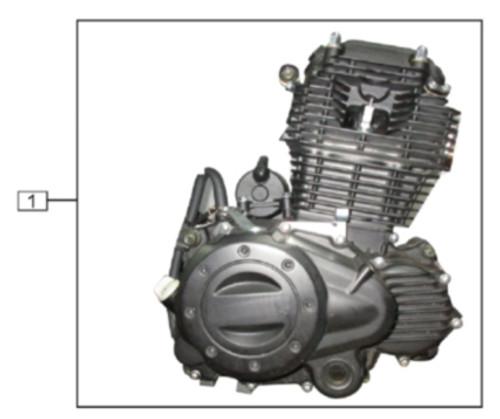 TT250 Engine Parts Diagram.