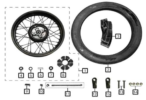 Rear Wheel Bearing Spacer