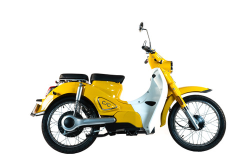 CSC Monterey Electric Scooter - Yellow