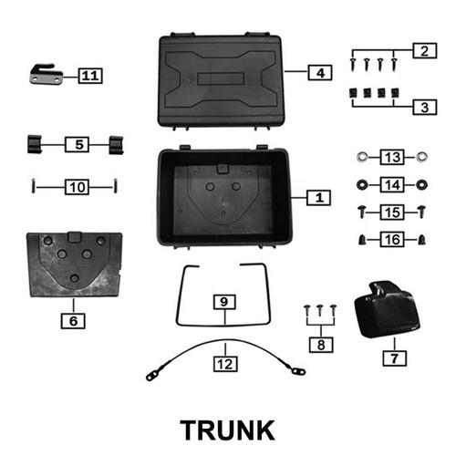 THE TAIL BOX SEALING STRIP USE Z58-102