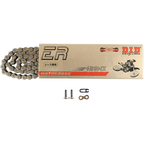 CHAIN, 428NZ X 130 LINKS G/B, FOR TT250
