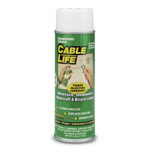 CABLE LUBE, CABLE LIFE 6.5OZ