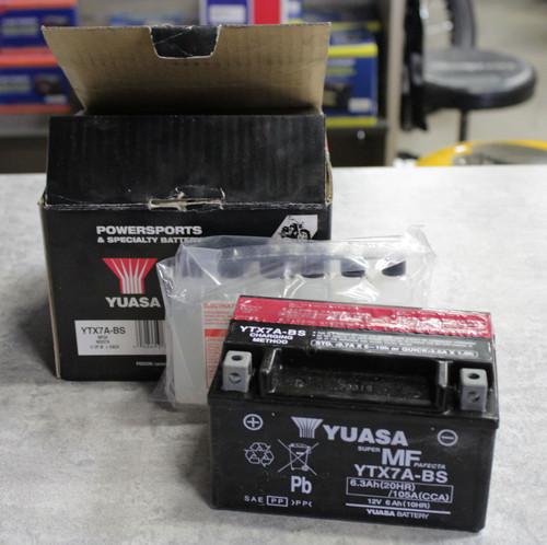 YTX7A-BS BATTERY MAINTENANCE FREE .33 LITER