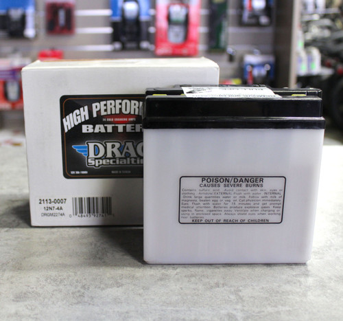 BATTERY DRAG SPECIALTIES 12N7-4A