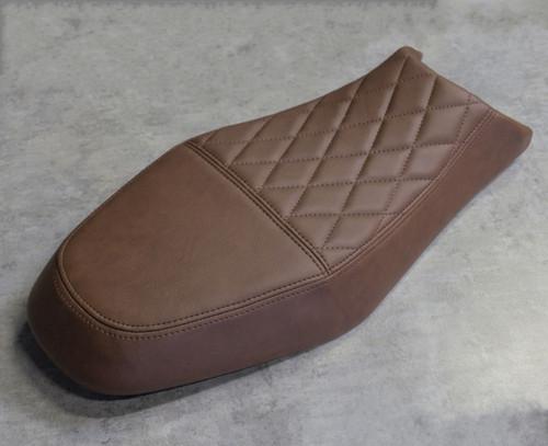 DIAMOND PATTERN, BROWN, CUSTOM UPHOLSTERED SG400 SEAT
