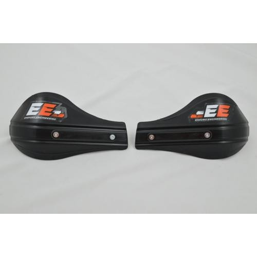 Handguards, Enduro Engineering Moto Roost Deflector Handguards With Aluminum Brackets