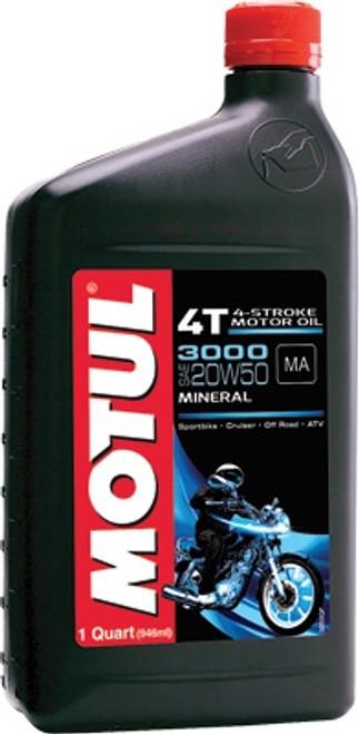 EA/MOTUL 3000 20W50 QT