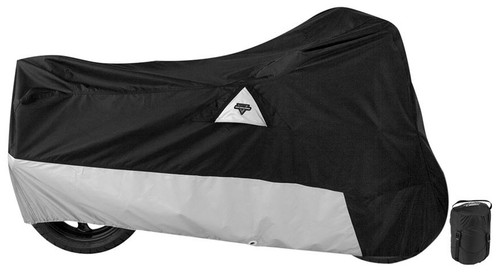 BIKE COVER, NELSON-RIGG DEFENDER 400 BLK MED