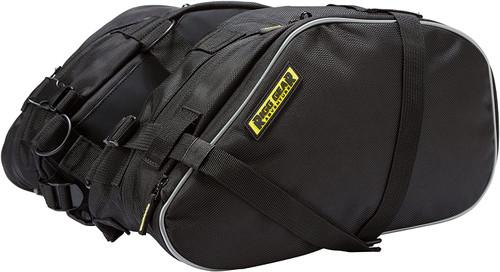 Nelson-Rigg Black RG-020 Dual Sport Enduro Saddlebags, One Size