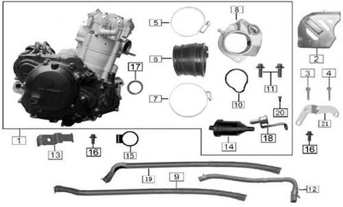 Fuel injector bracket