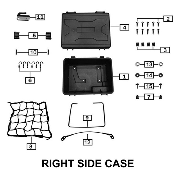 SIDE CASE CABLE USE Z58-108