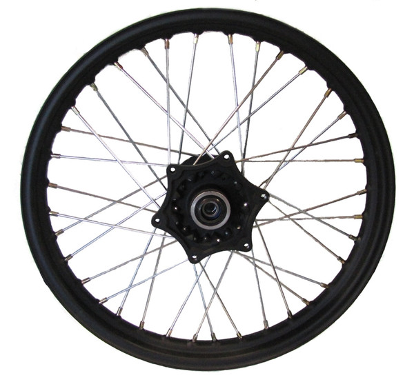 """19"""" FRONT WHEEL ASSEMBLY, BLACK, FOR RX3"""