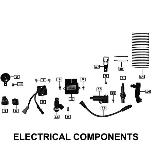 SUPPORT OF FUEL PUMP RELAY AND FUSES