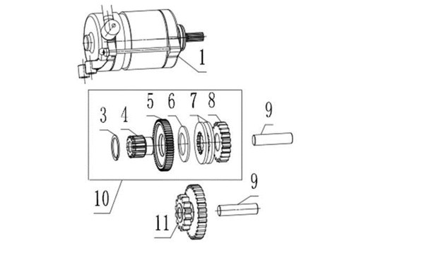Gear, Reduction, 2(2#)