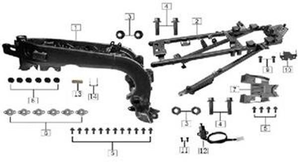 Bolt M6x12 16