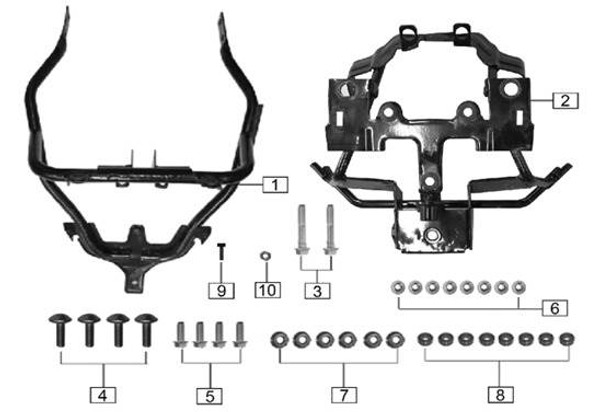 Front bracket Ⅱ