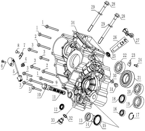 Oil Drain Plug RX-4