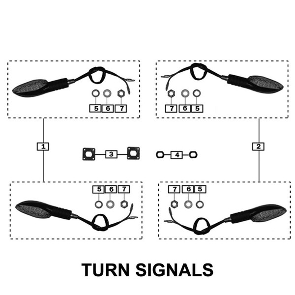Turn Signal Right Side (LARGE)