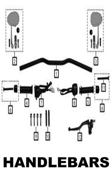Left switch assembly